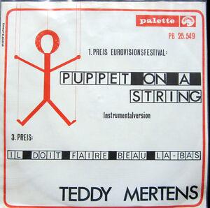Single / TEDDY MERTENS / 1967 / RARITÄT /