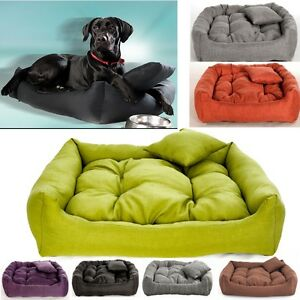 Details About Luxury Soft Comfy Dog Bed Cat Pet Warm Sofa Cushion Extra Large Up To 130cm