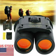 Mini Portable 30x60 Zoom Day/Night Military Binoculars Optics Hunting Camping US