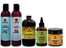 Tropic Isle Living JBCO Shampoo Duo & Black Oil 8oz/ Strong Root & Hair Food Set