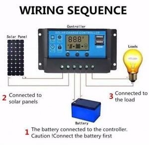 30A-12V-24V-Solar-Laderegler-Solarregler-2USB-Controller-Regulator-LCD-Display