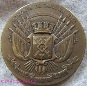 Med7620 - Medaille Societe De Topographie De France 1875-1924