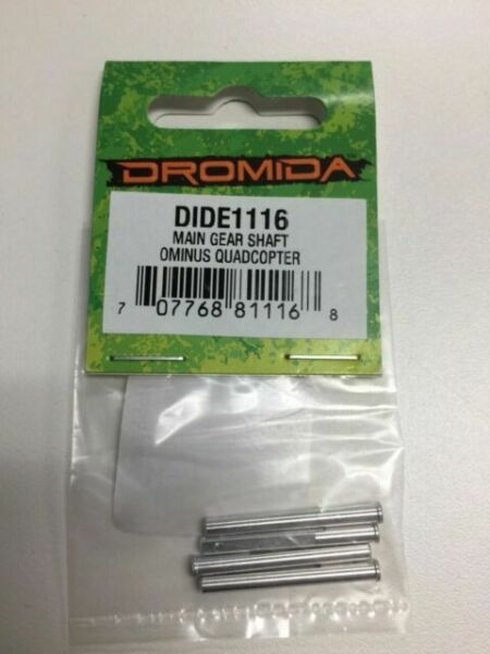 NIB. DIDE1116 Two Packs of Main Gear Shafts for the Dromida Ominus Quadcopter