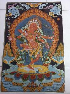 Tibet-Nepal-thangka-tara-buddha-Kuan-statue-Guan-Yin-Exorcism-peace-wealth
