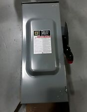 H323nrb Square D 100amp 3pole 240v Fusible Heavy Duty Disconnect Switch New
