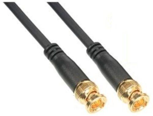 """1ft//12/"""" short BNC RG59 Security//DSR//DVR Video Camera//Cam Coax//Coaxial Cable//Cord"""