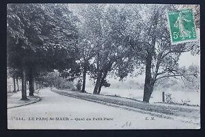 Tarjeta-Postal-Antigua-CPA-El-Arco-San-Maur-Muelle-Del-Pequeno-Parque