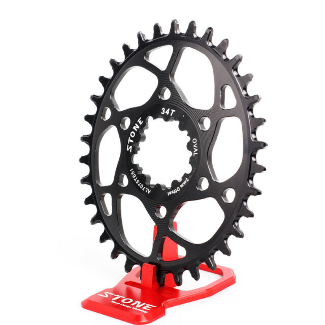 Oval chainring 3mm Offset for Sram Boost148 DUB GXP X9 X0 XX1 Eagle Chainline 52
