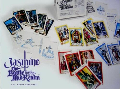 Jasmine The Battle for the Mid-Realm Collector Card Game Limited Edition  FS