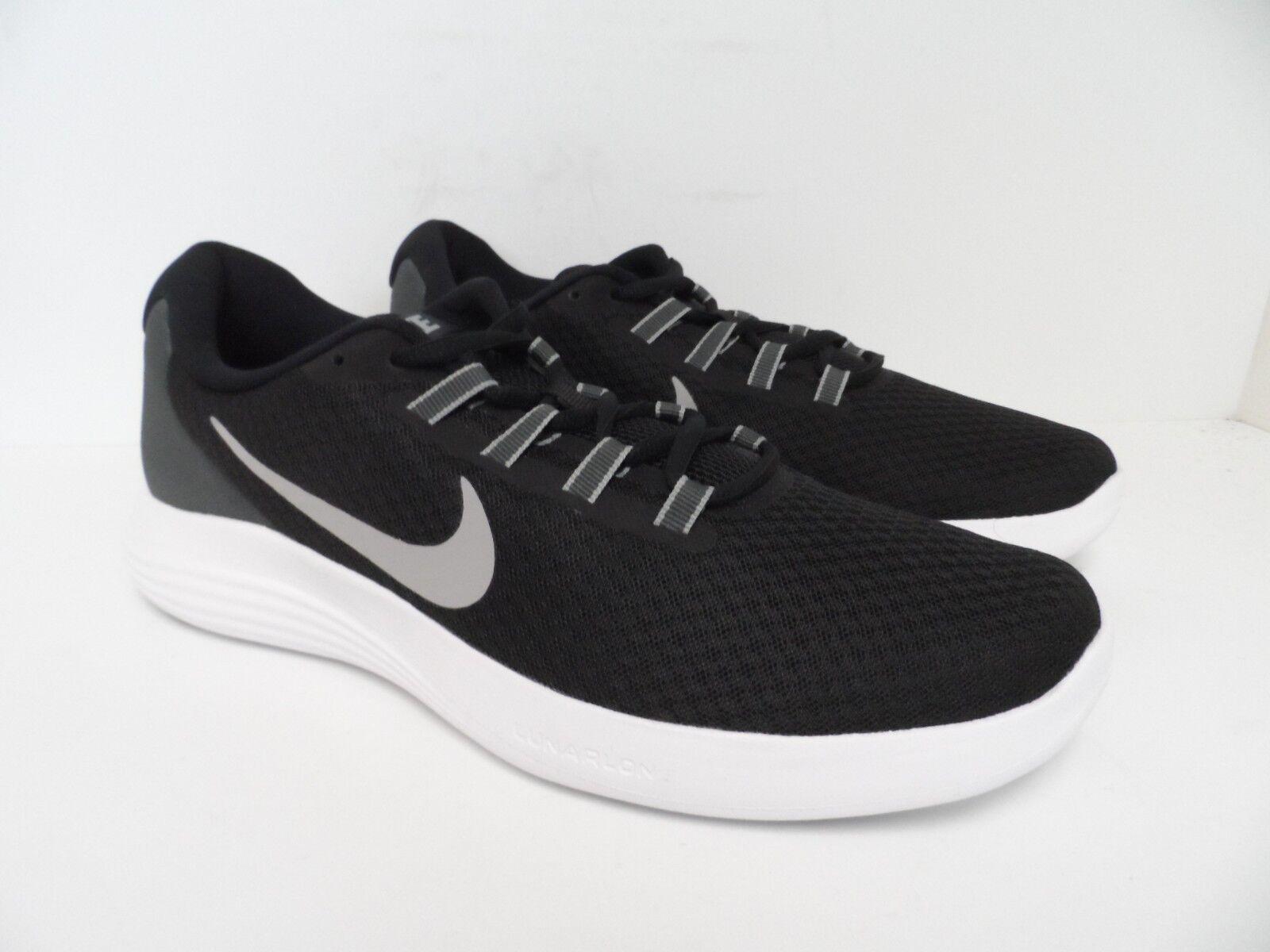 nike uomini lunarcoverage atletico scarpa da da scarpa corsa, grigio e bianco nero taglia 10 1fb76a