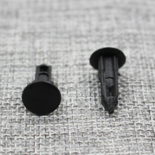100x New Plastic Rivet Bumper Fender Push Clips Fastener 8mm for Nissan Infiniti