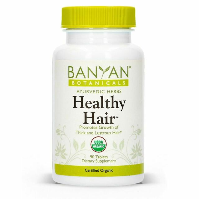 Banyan Botanicals Healthy Hair Certified Organic 90 Tablets For Sale Online Ebay