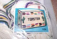 Design Works Southwest Toaster Cover Plastic Canvas Kit