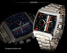 Montre Automatique sport racing Rétro Jaragar Edition Le Mans homme Men Watch