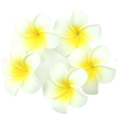 5/10/20/50pc Plumeria Hawaiian Foam Frangipani Flower For Wedding Party Decor
