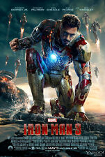 New Iron Man 3 Movie Wall Poster 20x13'' Decor 04