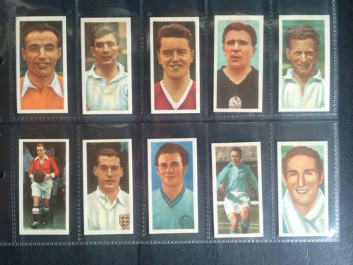 KANE INTERNATIONAL FOOTBALL STARS 1957 ***PICK THE CARDS YOU NEED*** VG
