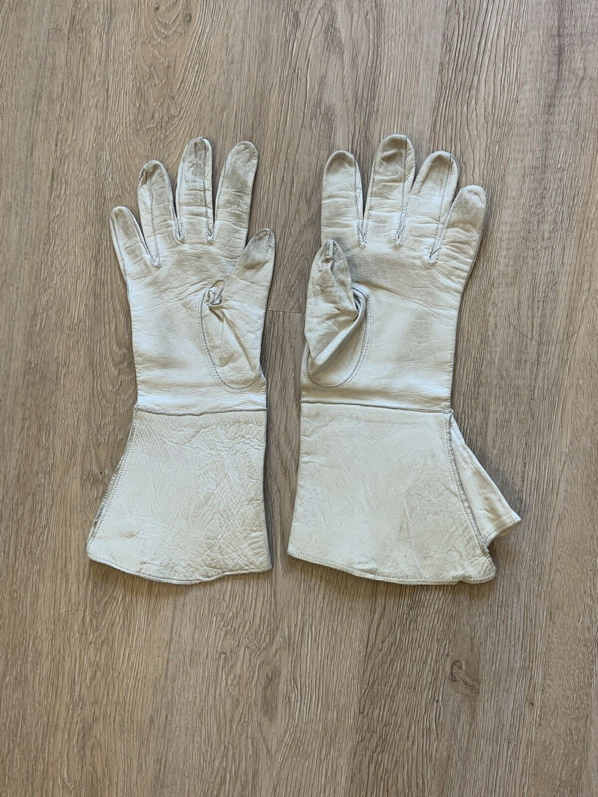 Vintage Early 20th Century French GAUNTLET GLOVES… - image 2