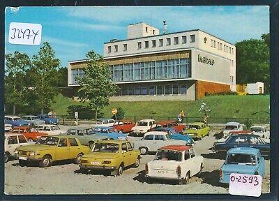 32474) Ribnitz-damgarten Ak Ahrenshoop Kurhaus Auto Trabant Wartburg O 1979 Weitere Rabatte üBerraschungen