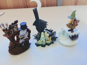 Used-Kaiyodo-Friends-of-Moomin-Valley-Figure-Collection-3-types-set