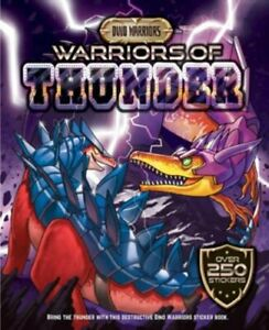 Dino-Warrior-Sticker-amp-Activity-Warriors-of-Thunder