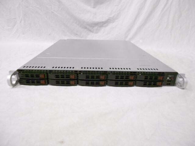 SuperMicro Server 10 Bay 2.5
