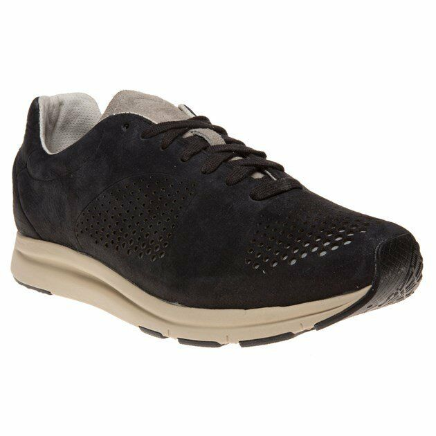 New MENS PUMA BLACK HAAST SUEDE Sneakers Retro