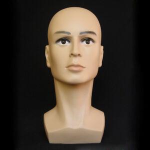 Polyethylene-Male-Mannequin-Head-Hat-Display-Mannequin-Head-Dummy-Wig-Stand