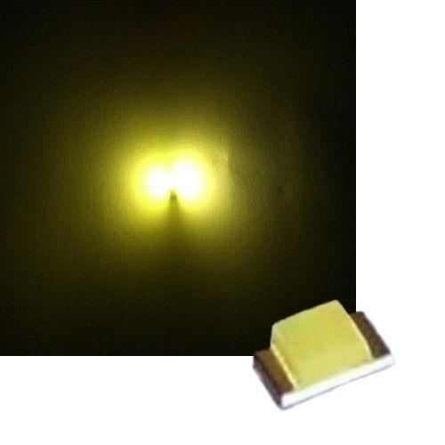 50 golden weiße SMD LEDs 0805 weiß smds mini led white