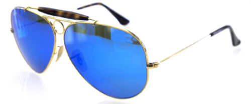 Ban Personalizzato Havana Blue Mirror Remix 3138 62 Ray Shooter Gold Lens lFK1Jc