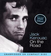 On the Road by Jack Kerouac Audiobook (2004, CD, Unabridged) Matt Dillon