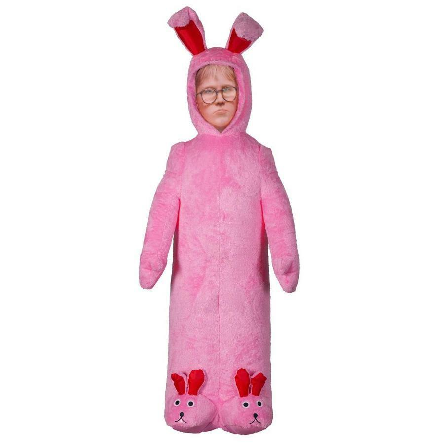 CHRISTMAS SANTA A CHRISTMAS STORY RALPHIE Rosa BUNNY  AIRBLOWN AIRBLOWN AIRBLOWN INFLATABLE 6 FT 457fe9