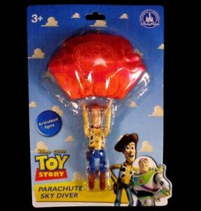 Disney-Toy-Story-Land-Red-Parachute-Woody-SkyDIver-Figure-NEW-disney-Parks