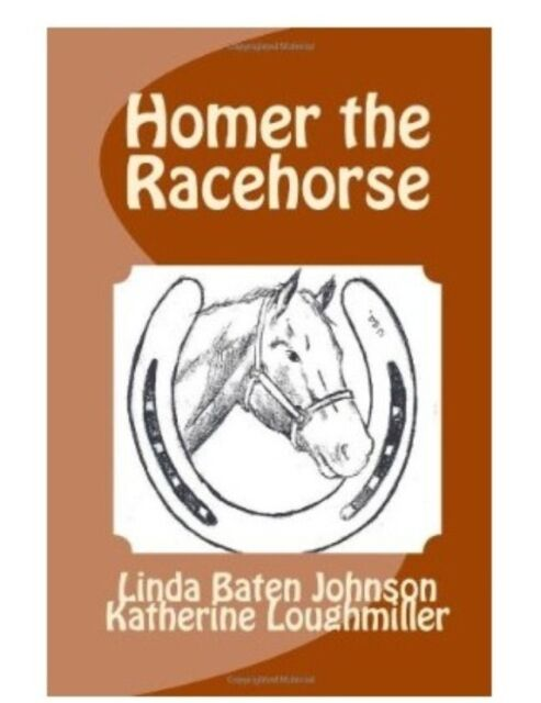 NEW Book Children's Story HOMER THE RACEHORSE Therapy Horse Hippotherapy