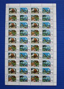 Palau (#109-112) 1986 International Peace Year MNH sheet