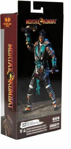 Ghiacciato BLOODY Action figure in magazzino McFarlane MORTAL KOMBAT 4 Sub Zero