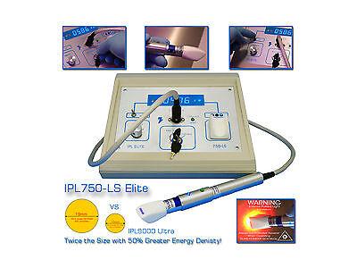 IPL750 Laser Hair, Scar, Wrinkle, Blemish, Vein and Age Spot Removal System