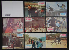 LA VENGEANCE DU LEOPARD 8 lobby card photo scenario film 1960s KUNG FU
