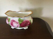 """Royal Albert Bone China """"OLD ENGLISH ROSE"""" small footed dish bowl 3 1/2"""" by 2"""""""