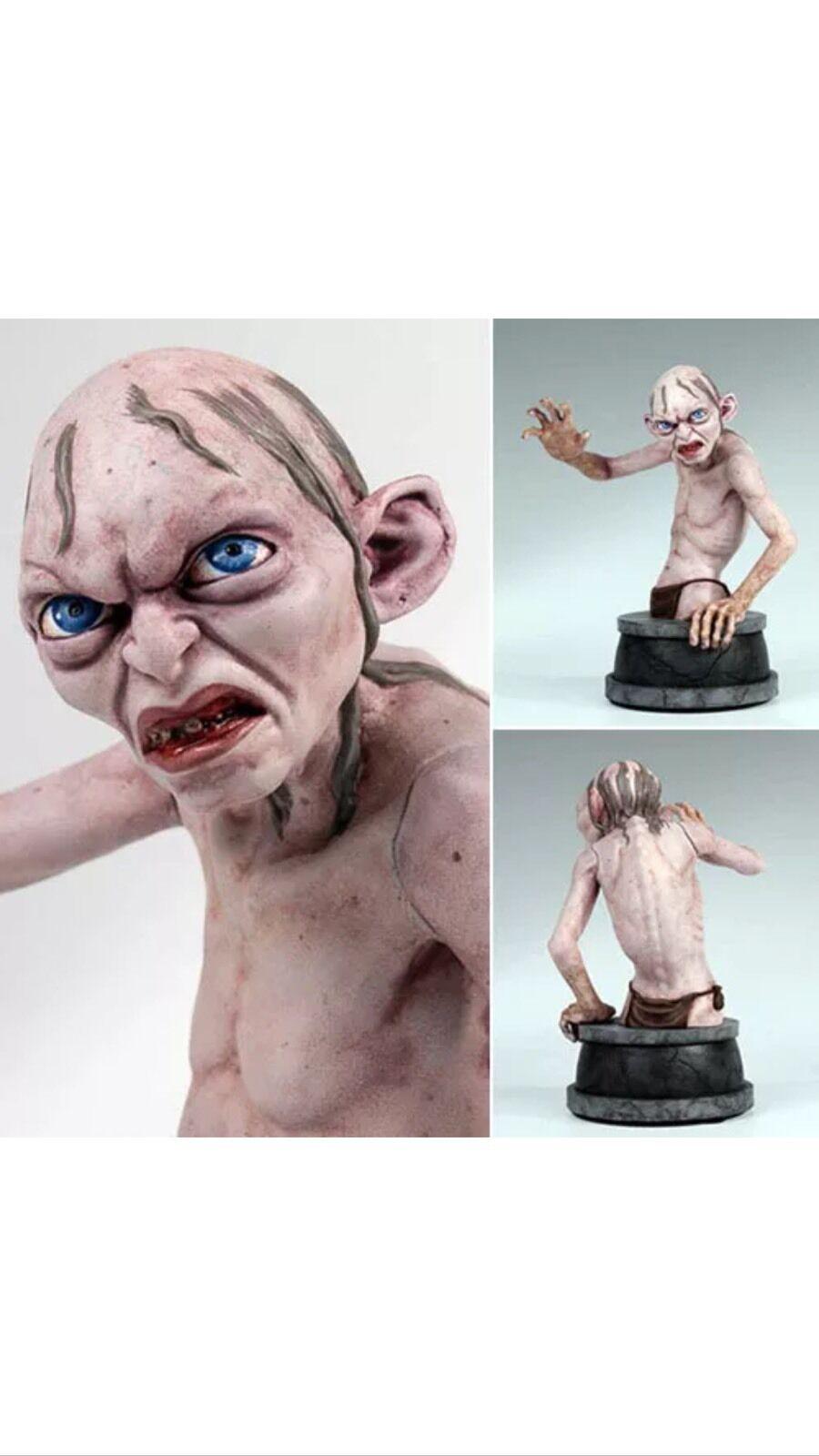Lo Hobbit film Mini Busto-Gollum GENTLE GIANT UK Venditore. il Signore degli Anelli