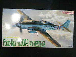 Focke-Wulf-Fw-190-D-9-034-Langnasendora-034-Dragon-Scale-1-48-Kit-5503-Super