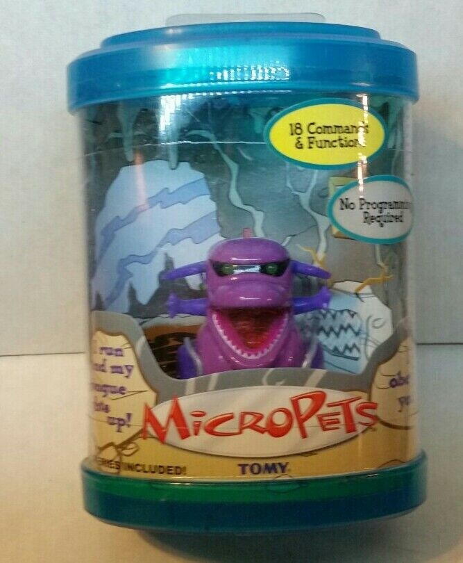 2002 Tomy Micropets Kuda Dragon Electronic Interactive Toy MIP