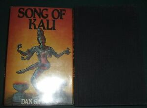 First-Edition-1985-Song-Of-Kali-by-Dan-Simmons-Signed-by-Jill-Bauman-Artist