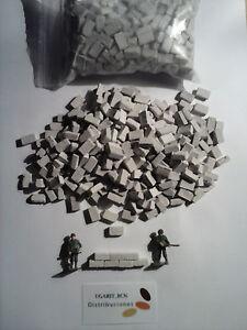 Brick Ladrillos adobe 700 un HO/OO 1 100 1 87  700 un (2 bolsas/bags=400gr.) - España - Brick Ladrillos adobe 700 un HO/OO 1 100 1 87  700 un (2 bolsas/bags=400gr.) - España