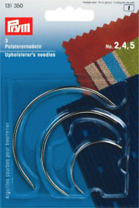 3-x-PRYM-UPHOLSTERY-CURVED-HAND-SEWING-NEEDLES-Size-No-2-4-5-131350