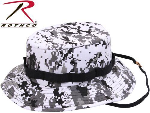 Kid/'s /& Adult City Digital Camo Military Style Boonie Hat Bucket Jungle Hat 5460