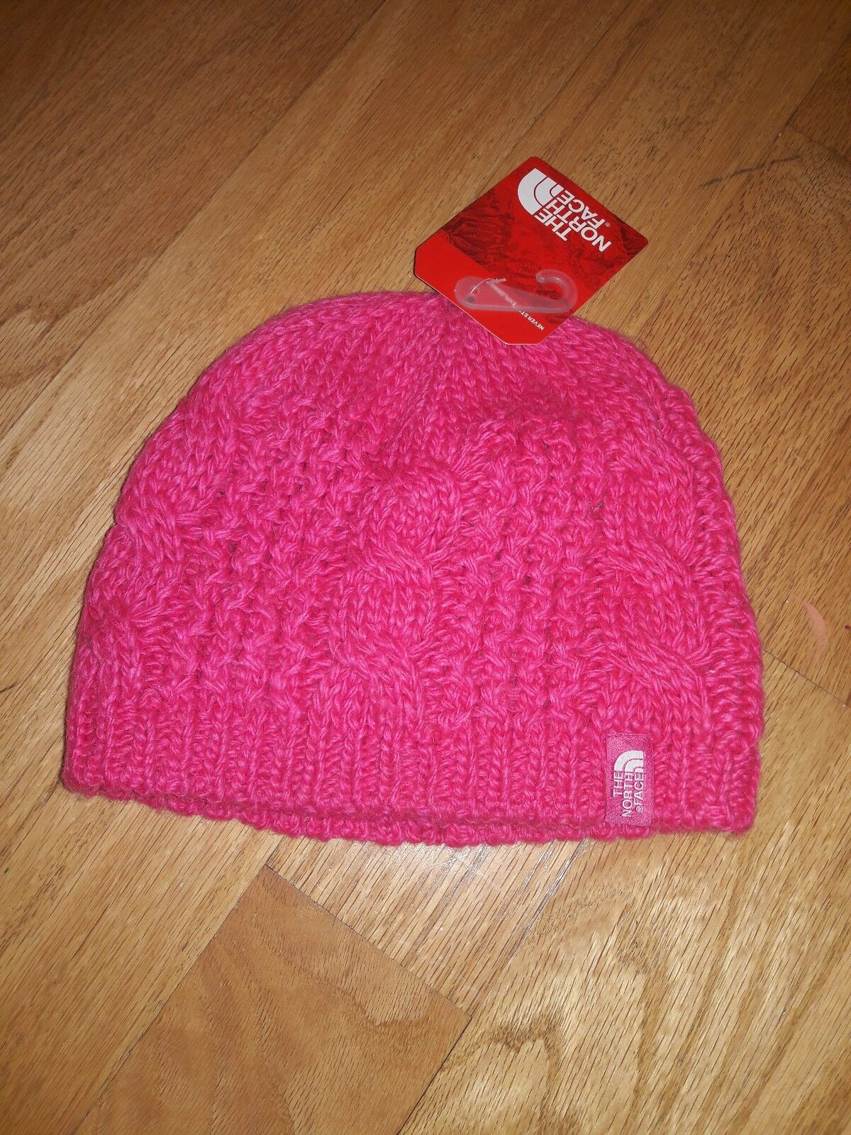 76915544322ef The North Face Youth Medium Cable Minna Beanie Cabaret Pink M for ...