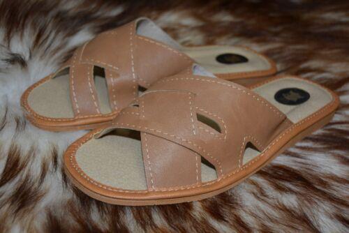 Mule Naturel Homme Tongs Chaussures 7 Taille Sandales Pantoufles Cuir PqSpZxPw
