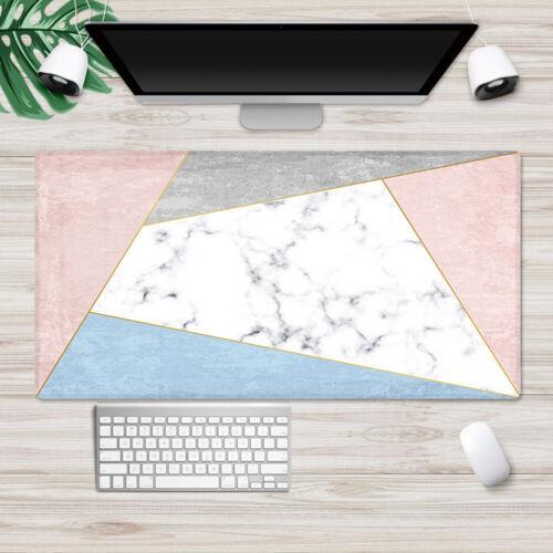 Office Mouse Pad Computer Desk Mice Pad Game Keyboard Laptop Cushion Mat UK