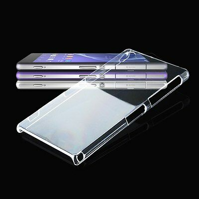 Ultra Clear Crystal Hard Plastic Back Case Cover Protect Skin for Sony Xperia Z2